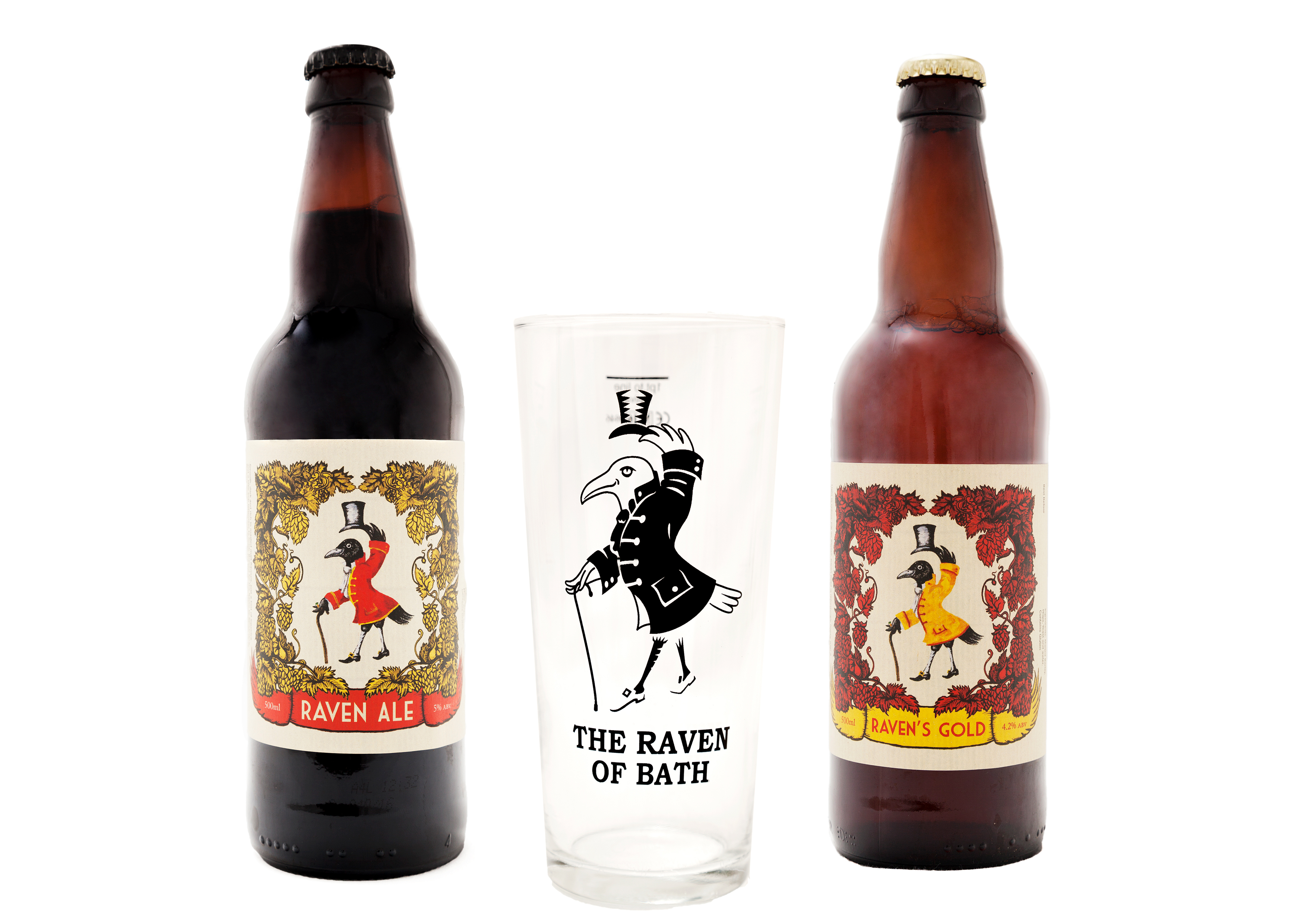 The Raven Ale & Raven's Gold Duo