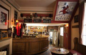 The Raven Interior